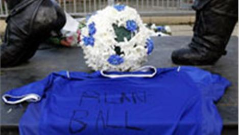 Everton legend Alan Ball dies