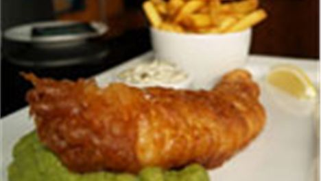 Best of three: Posh fish and chips