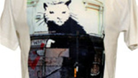 Win a Liverpool Banksy rat-cat t-shirt