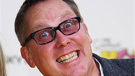 Vic Reeves, Brian Keenan, Oxjam, fancy balls and Irish stuff