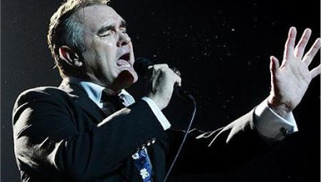 SATURDAY NIGHT BREAKING NEWS: Morrissey hit on head by glass