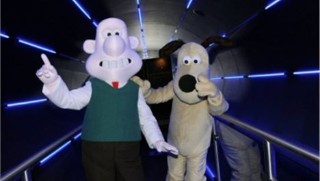 Free child ticket for Wallace and Gromit in Space*