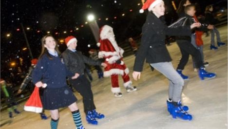 Ice rink returns to Salford Quays