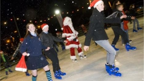Win unlimited skating at Salford Ice Rink