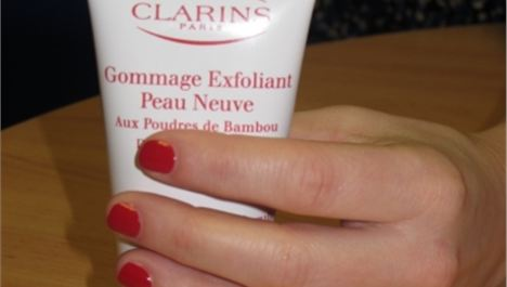 Clarins mid-winter makeover