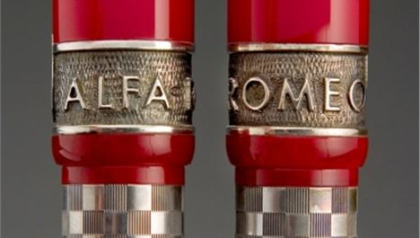 "Win a stunning numbered ""Alfa Romeo Trofeo Giulietta - Ball Point pen"" – crafted by Delta."