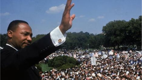 Martin Luther King and the Adelphi