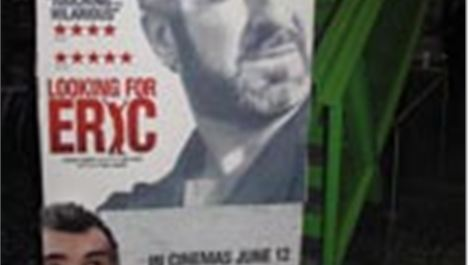 Eric Cantona takes Gordo to the movies