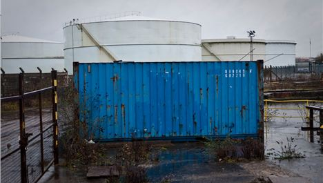 Mersey ship containers become art