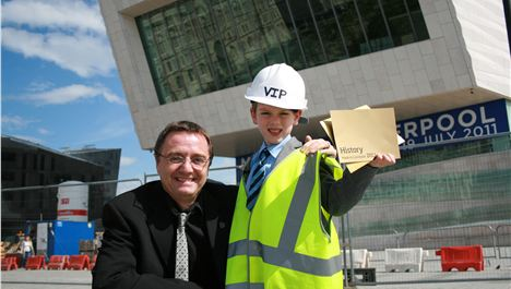 Six-year-old to open new museum