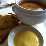 Lobster bisque and aioli