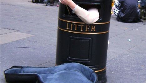 Singing bins introduced into Liverpool