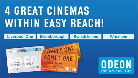 ODEON Liverpool One Ticket Offer