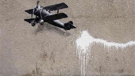 Exclusive: A brand new Banksy
