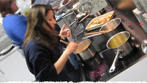 Cookery classes' 'big impact' on eating habits