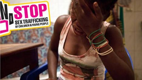 Liverpool world premiere says stop the sex traffick