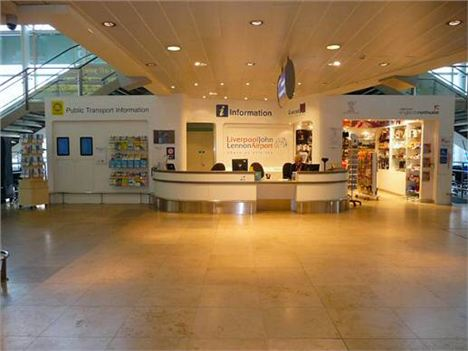 Liverpool Airport_Info Desk