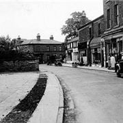 Derby Road, Huyton, before redevelopment