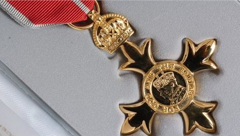 OBE for Joe Anderson