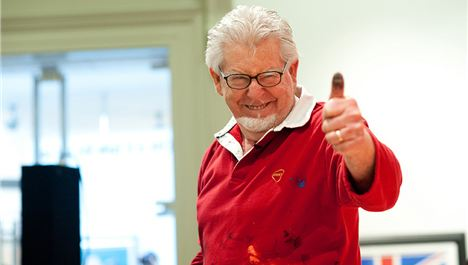 Rolf Harris returns to Liverpool