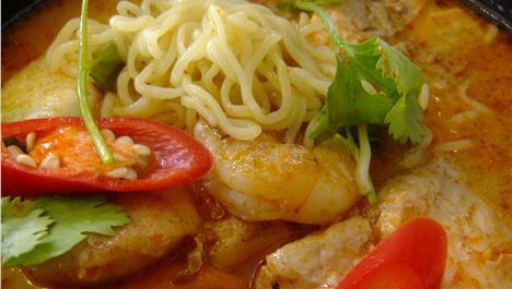 Sweet nothings: Seafood Tom-Yum