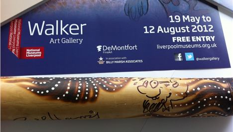 Win a didgeridoo signed by Rolf Harris
