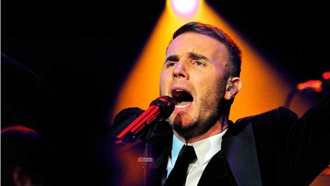 """Tickets now on sale""... for Gary Barlow"