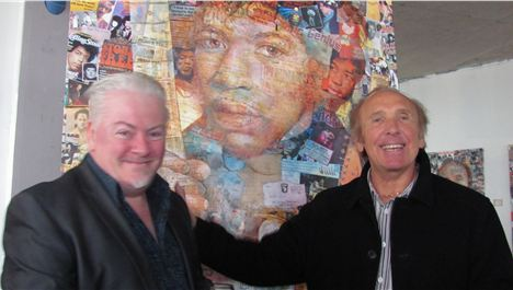 Jimi Hendrix artwork unveiled by Merseybeat man