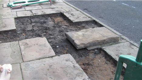 Exclusive: Historic paving ripped up by Hope St thieves