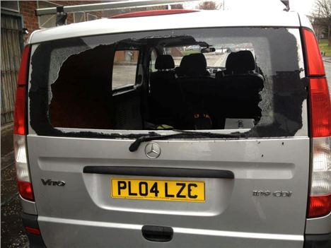 Clockwork Radio Smashed Van
