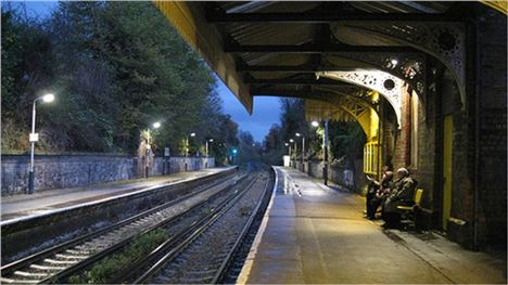 Aigburth Station Before