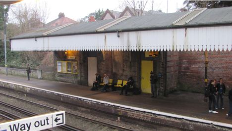 Work on Aigburth Station halted in tracks