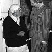 Mother Theresa Margaret Thatcher
