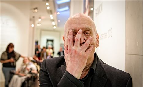 Wilko Johnson At The Rankin Private View. Picture By Stephanie De Leng