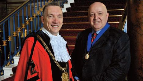 Gary Millar sworn in as Lord Mayor