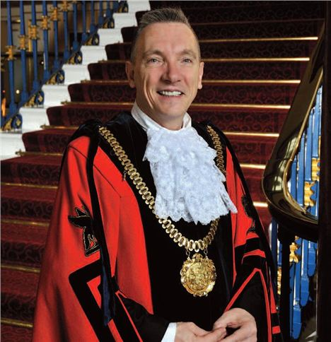 Gary Millar Lord Mayor