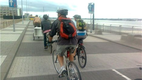 Call for cyclist speed limit on Otterspool prom