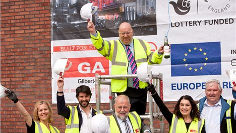 Video: Everyman topping out ceremony