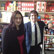 Food Bank Luciana Berger Is Keen To Show Freud Around