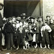 Liverpool slum children of the 1900s. A century later could they soon take on a look of familiarity?