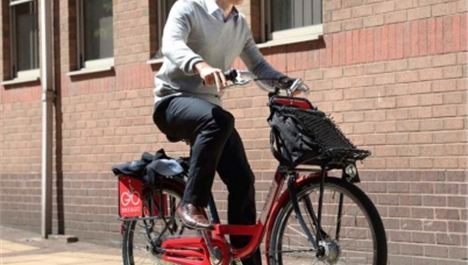 Bike & Go hits road in Liverpool