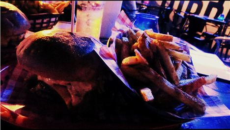 Almost Famous Burgers in Halloween party alert