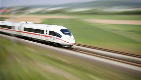 HS2: beware of fast moving trains