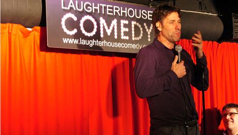 John Bishop's surprise stand-up in pub