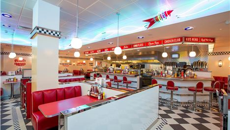 Retro burger joint for Liverpool ONE