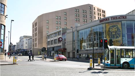 11-storey student block on Odeon site