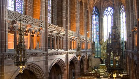 Anglican Cathedral: The High Point Of Liverpool