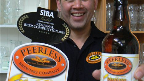 Birkenhead brewery rolls out the barrels