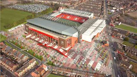 New Anfield stadium plan revealed
