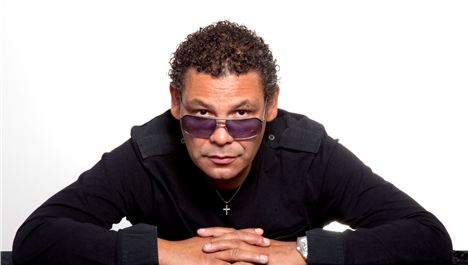 Craig Charles funks it up on waterfront